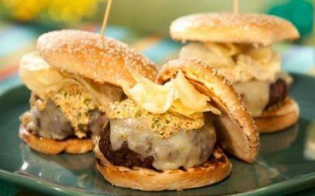 Photo of Louisiana Burger Recipe by Bobby Flay #tassorecipes