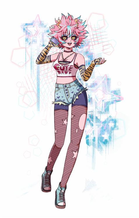 Pin On Ashido Mina
