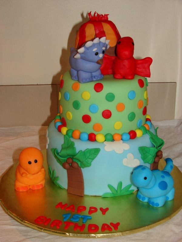 Dinosaur Birthday Cake Jenna Zigrang How Cute It This Dylans