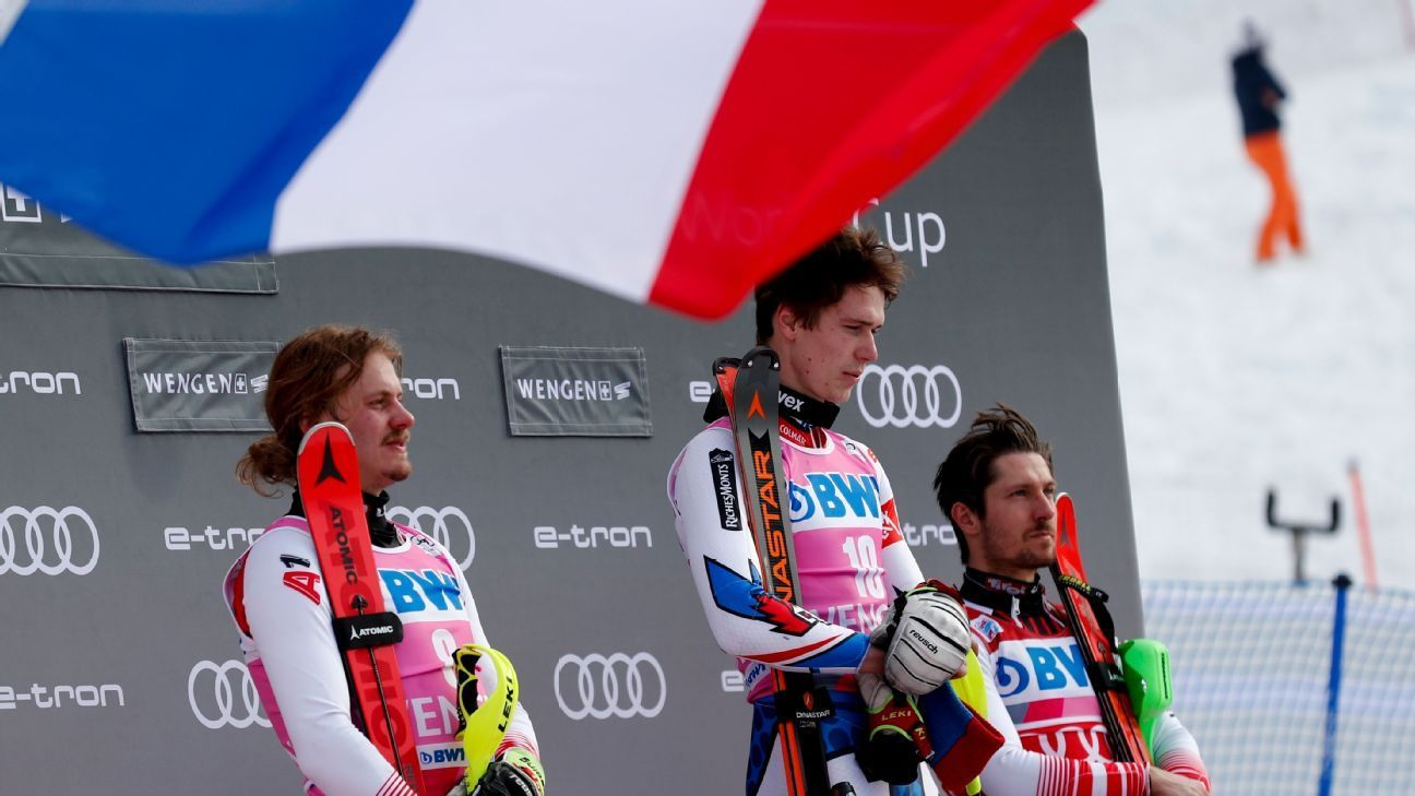 France's Noel holds off Austrians, wins slalom Hold on