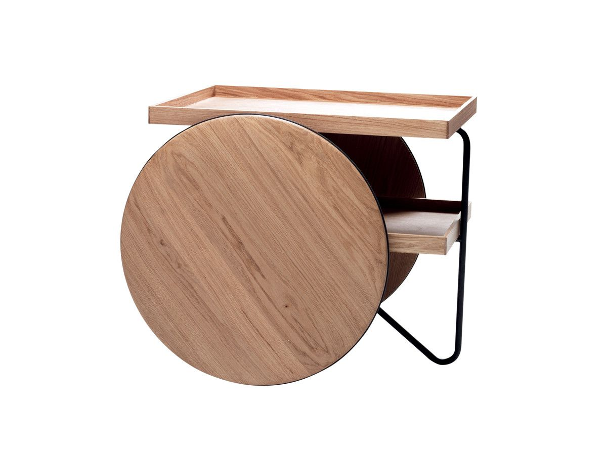 Casamania Chariot Mobile Table Coffee Table Coffee Table Kitchen Furniture