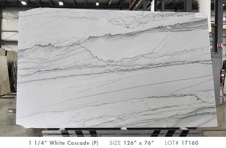 White Cascade P 1 1 4 Akdo Akdo Stone Surface Akdo Tile