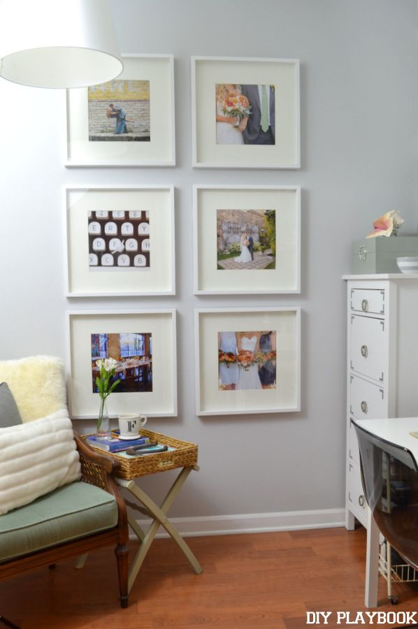 How to Hang Your Photos as a Symmetrical Gallery Wall | How-To ...
