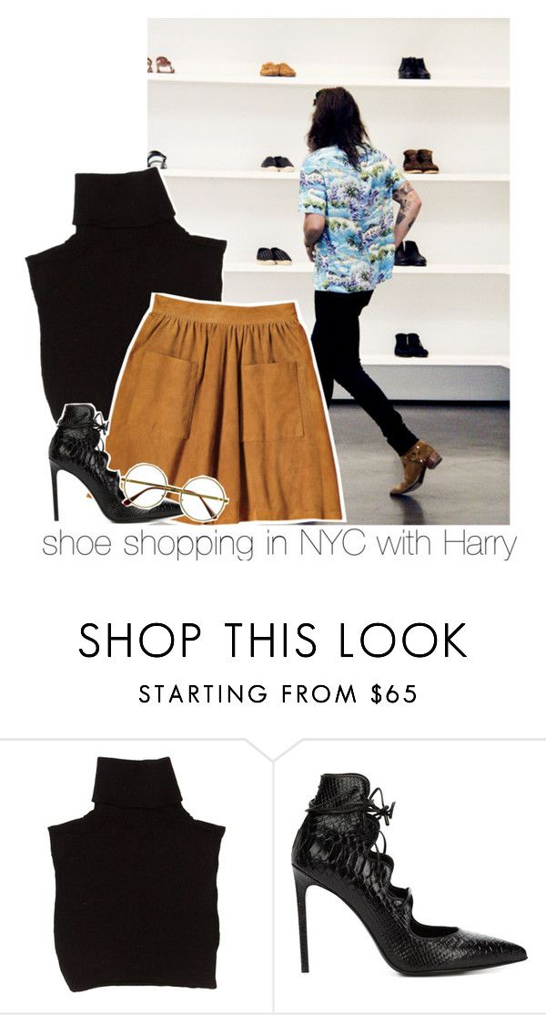 """""""beautiful morning, hear the sound of my moaning babe"""" by i-prefer-the-drummer ❤ liked on Polyvore featuring Marc Jacobs, Guide London, Yves Saint Laurent and Retrò"""