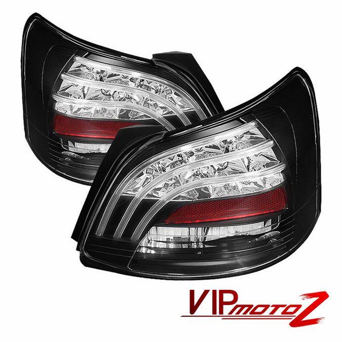 2007 2011 Toyota Yaris 4d Sedan S Base Black Philips Led Tail Light Brake Lamp Led Tail Lights Yaris Hatchback