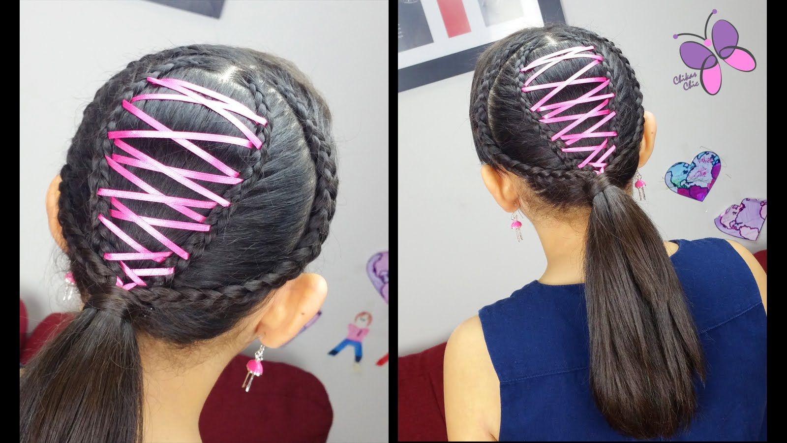 Corset ponytail cute girly hairstyles hairstyles for school