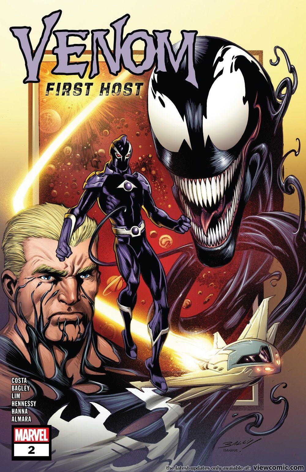 Venom – First Host 002 (2018) ……………… | Viewcomic reading