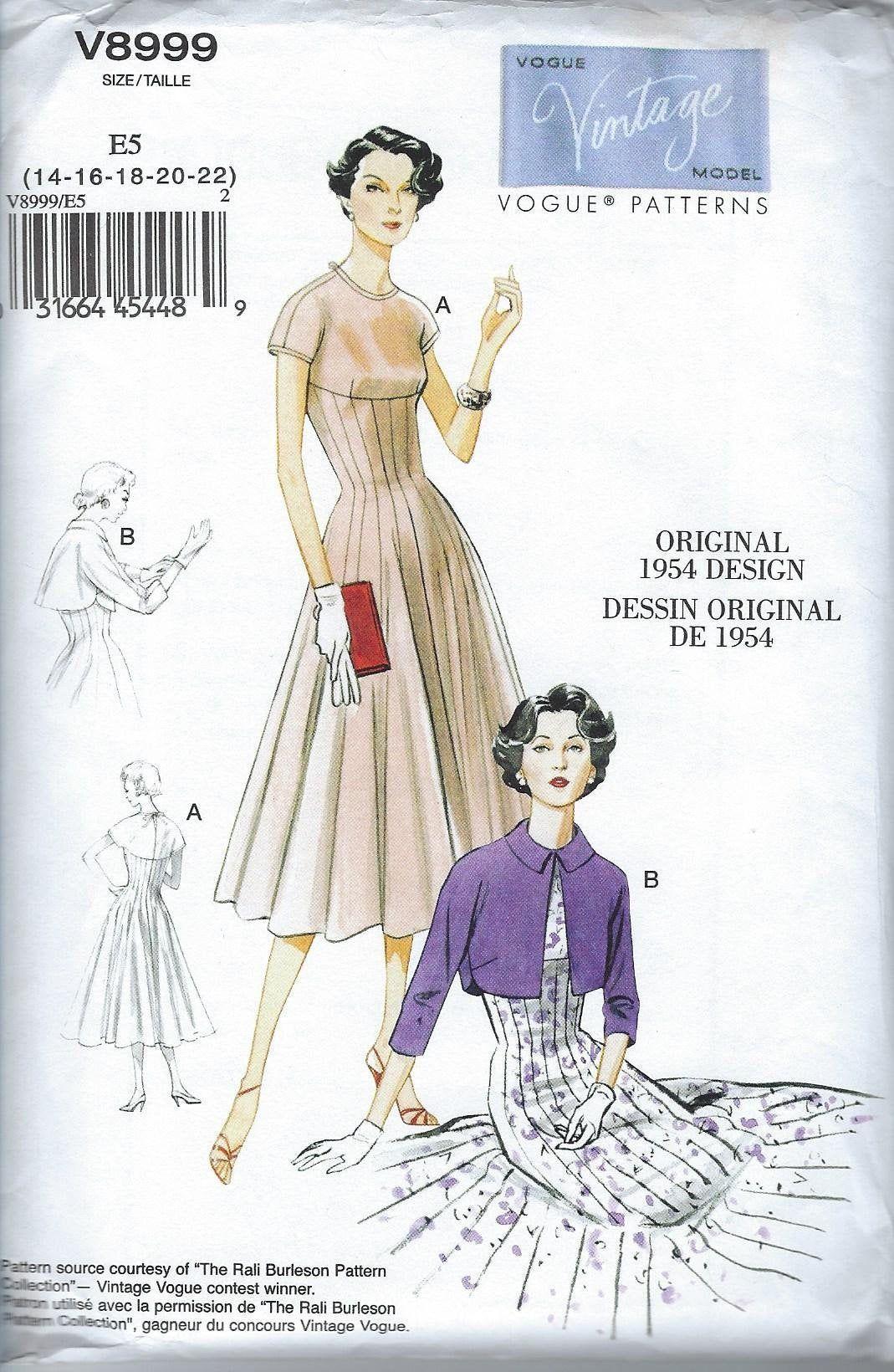 Pin On Buy Vintage Sewing Pattern