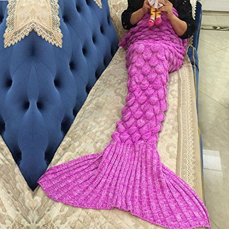 meerjungfrau decke noza tec handgemachte h keln meerjungfrau flosse decke mermaid blanket. Black Bedroom Furniture Sets. Home Design Ideas