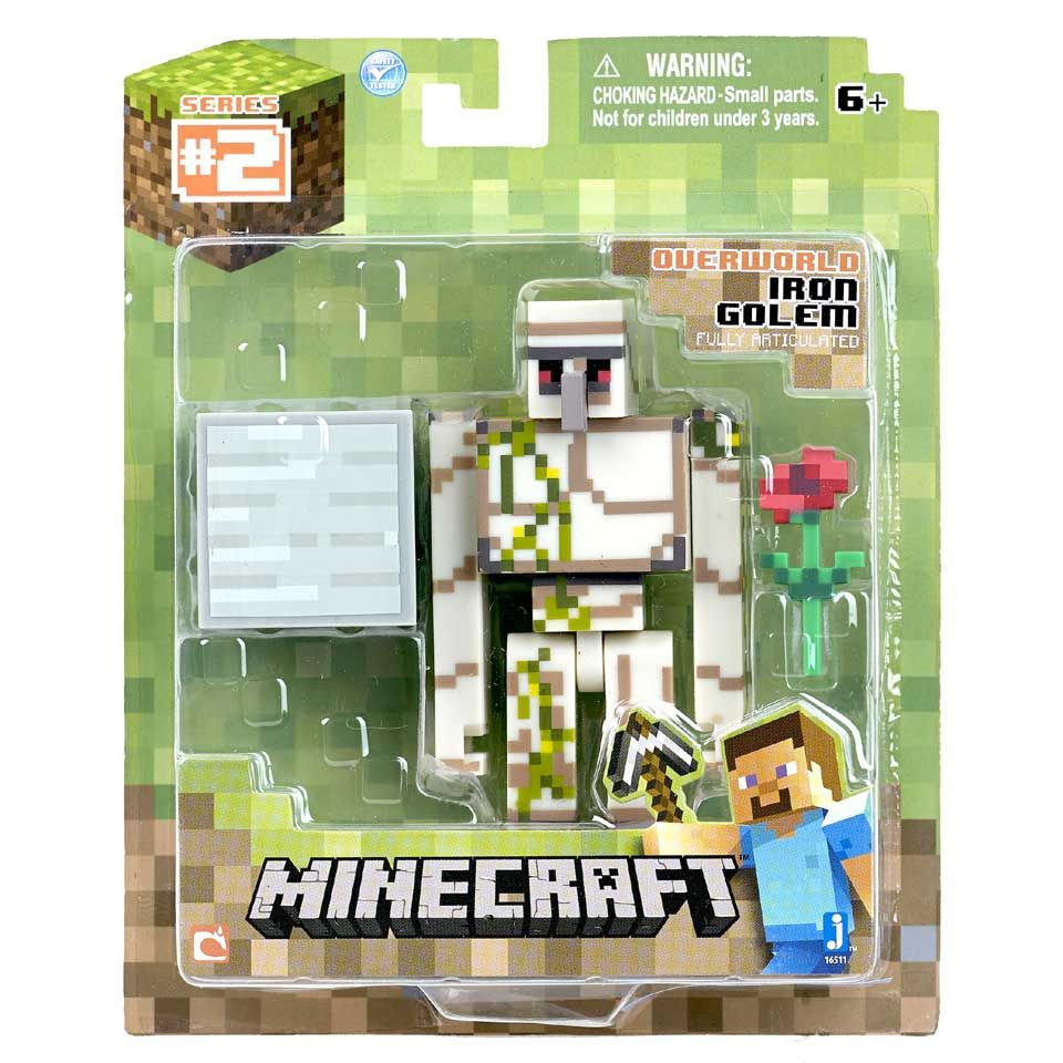 Minecraft Figuur Iron Golem | Intertoys