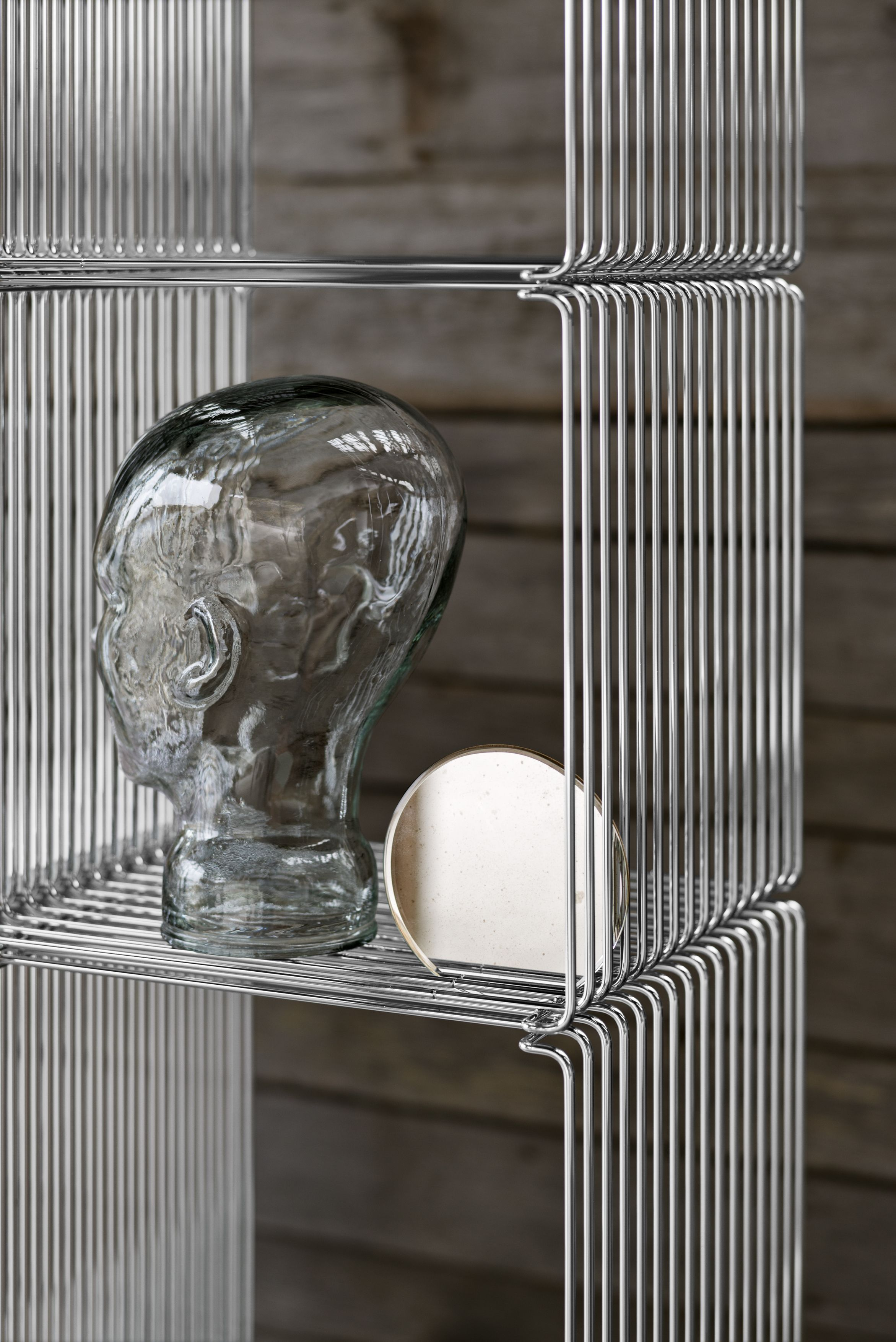 Panton Wire – wire cube shelving system by Verner Panton in steel ...