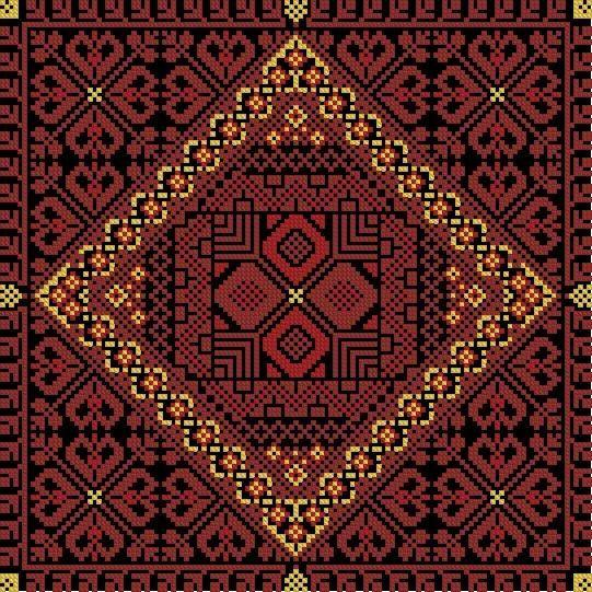 Moroccan Embroidery Cross-stitch - Пошук Google