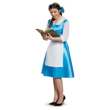 Beauty and the Beast Belle Blue Dress Womenu0027s Adult Costume - Large  Target  sc 1 st  Pinterest & Beauty and the Beast Belle Blue Dress Womenu0027s Adult Costume - Large ...