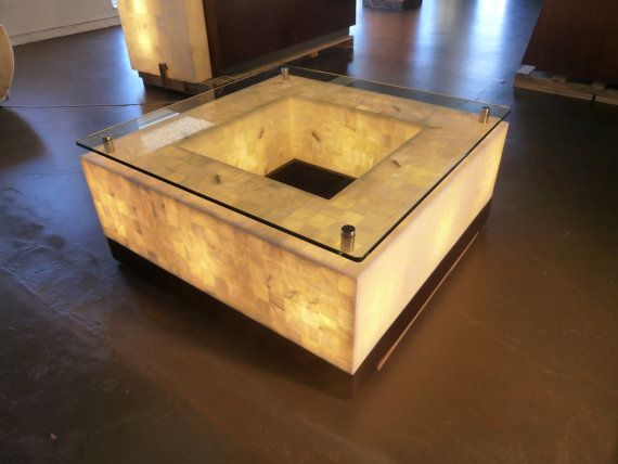 Onyx Coffe Table With Glass Top Wood Base By Artdecodesignbycant 3500 00 Onyx Table Coffe Table Dining Table Chandelier