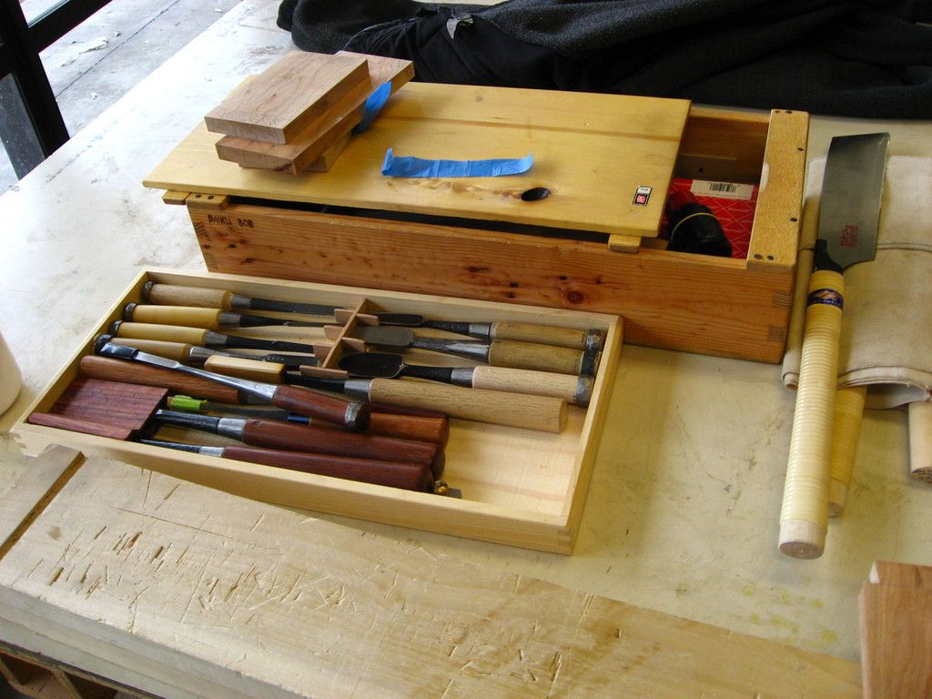 Tool Tray Fits Inside Of Tool Box Japanese Woodworking