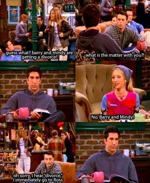 """24 Times The Other """"Friends"""" Were Savage As Hell To Ross"""