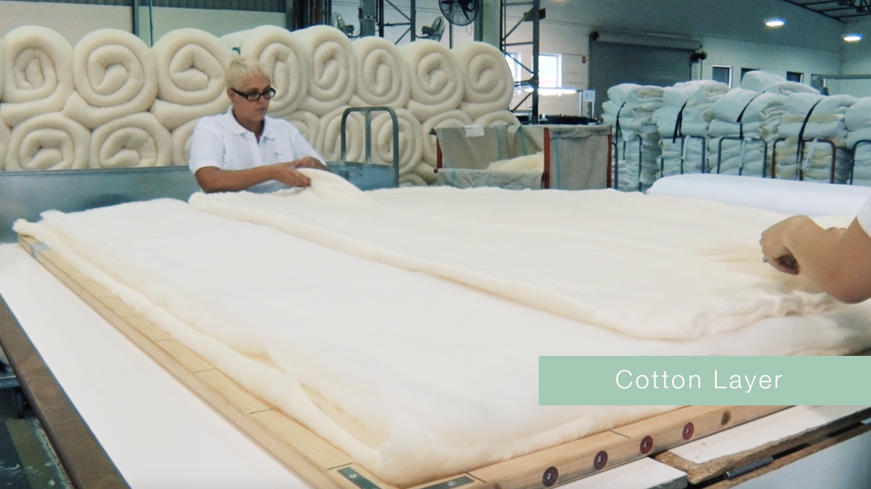 our mattress toppers are designed with a pure cotton layer for the