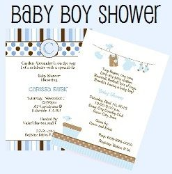 Pin by vio karamoy on 10 Magnificent Baby Shower Invitation