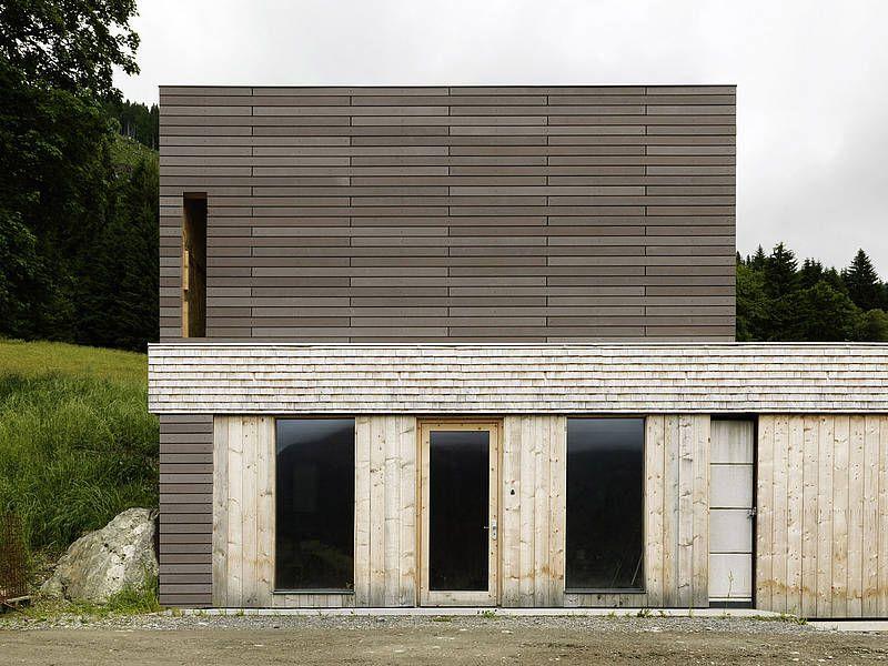 fibrec ko skin fassade material struktur pinterest architektur lamellen und holzbau. Black Bedroom Furniture Sets. Home Design Ideas