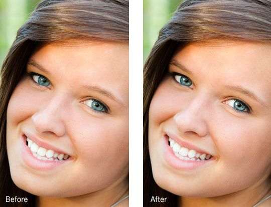 Making the Eyes Pop in Lightroom 3 - before and after