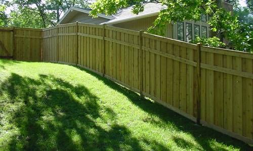 Wood Privacy Fence 28 Earth Wood Privacy Fence Living