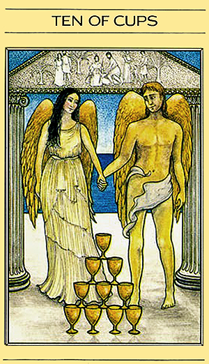 Free Daily Tarotscope -- Apr 7, 2015 -- Ten of Cups   10 of Cups