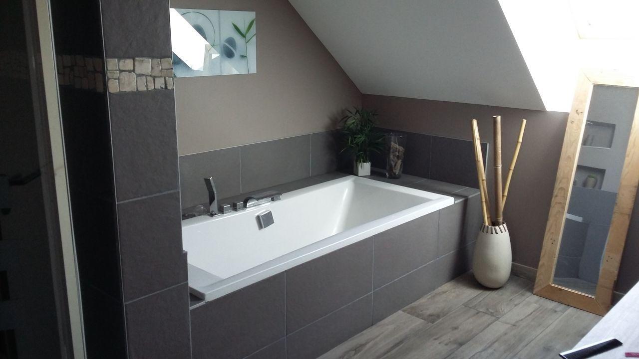 Carrelage Salle De Bain Nature Zen ~ salle de bain zen et nature carrelage imitation bois design