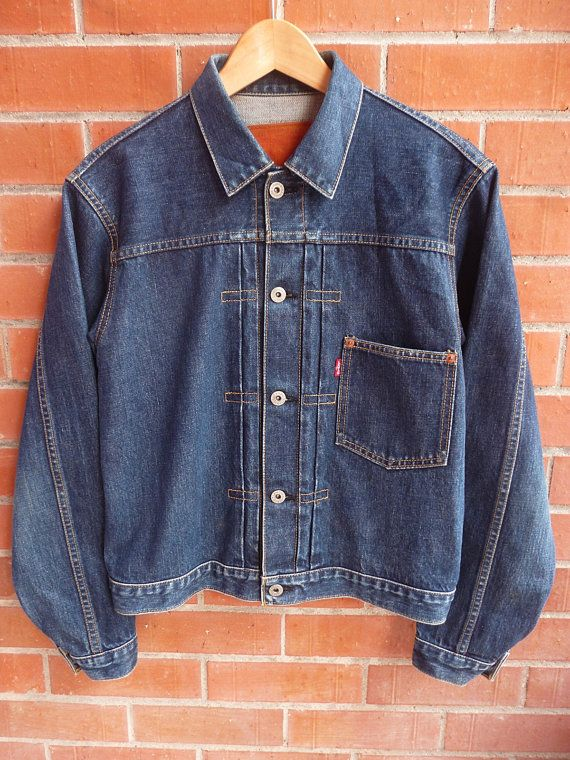98b18516d Made in Japan Levis Big E Selvedge Single by THRIFTEDISABELLE American  Vintage Clothing