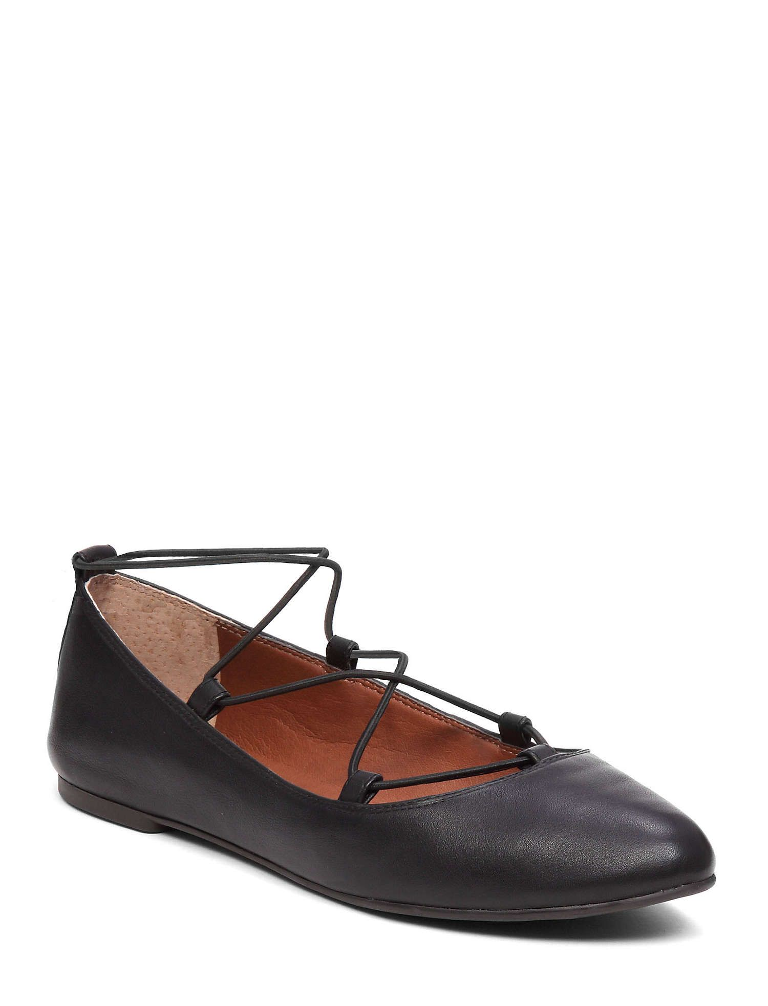 lucky brand aviee lace up flats
