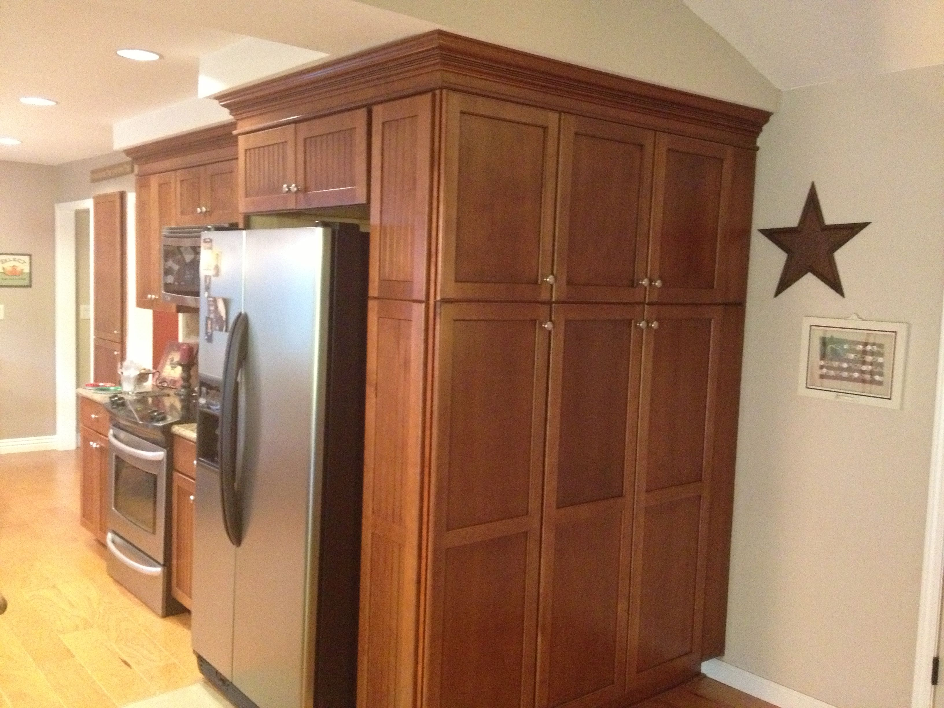 Kitchen Cabinets Add More Space To Kitchen By Wrapping Cabinets Around Corner Small White Bathrooms Pantry Design Storage Solutions Closet