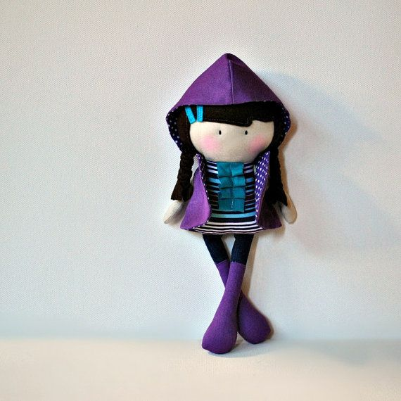 My Teeny Tiny Doll Sarah by CookYouSomeNoodles on Etsy