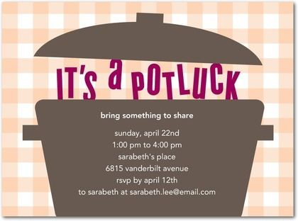 potluck party invitations housewarming party idea affiliate