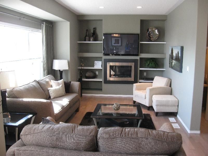 electric-fireplace-entertainment-center-Living-Room-with-custom