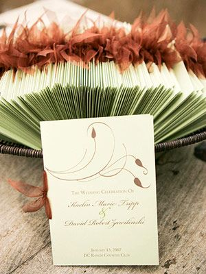 Real wedding a colorful desert wedding colorful weddings deserts do it yourself programs diy wedding programsfall wedding invitationswedding solutioingenieria Image collections