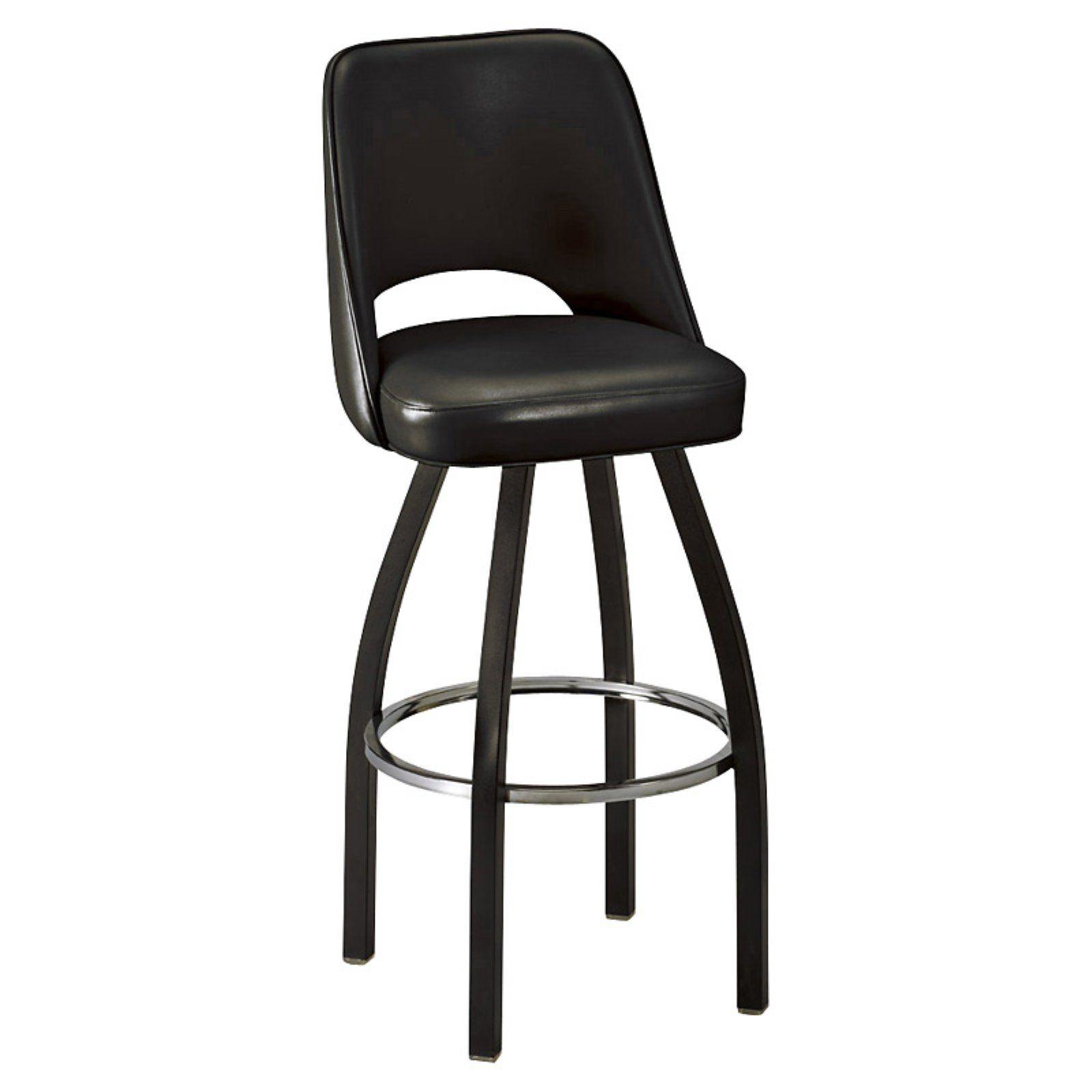Regal 30 Inch Fillmore Bucket Seat Swivel Bar Stool Wine Bar