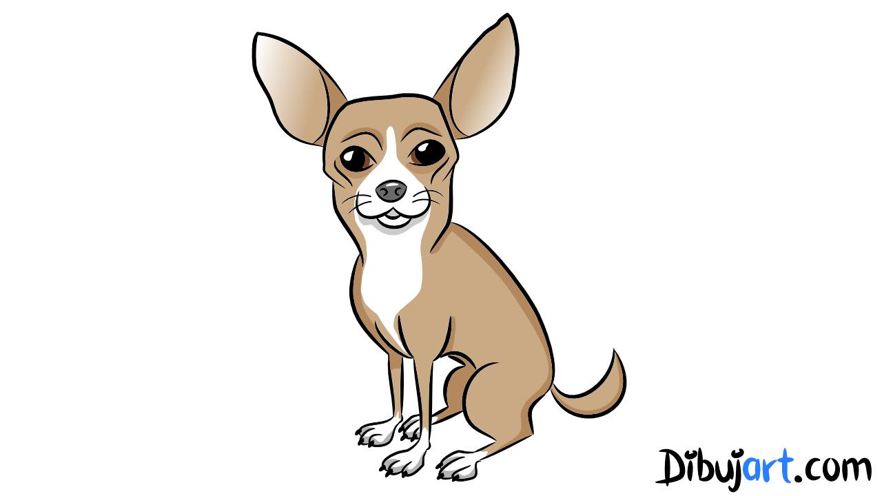 Como dibujar un Chihuahua paso a paso   dibujart.com el sitio para ...