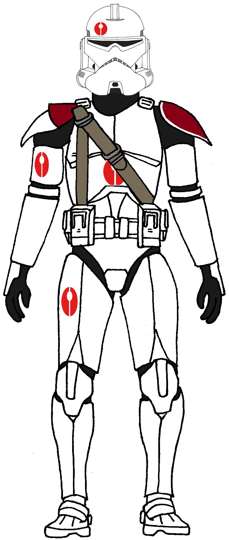 Clone Trooper Neyo S Battalion Star Wars Clone Wars Star Wars Trooper Star Wars Drawings