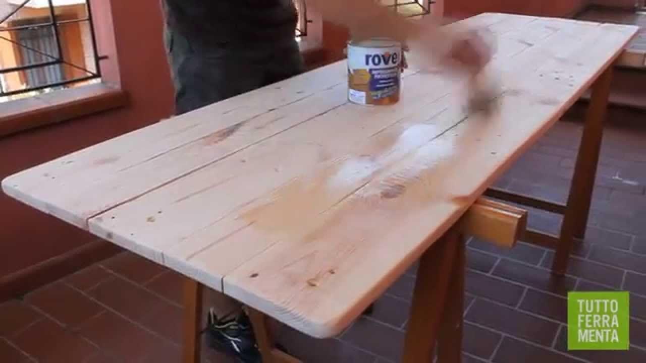 Tavolo Esterno Fai Da Te come costruire un tavolo da giardino con i pallet - faidate