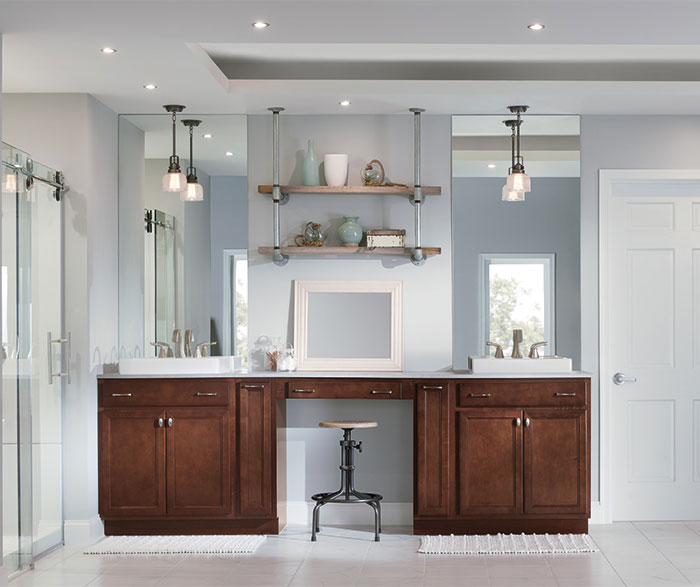 Greeting a new day with an optimistic attitude isn't hard ... on Bathroom Ideas With Maple Cabinets  id=81271