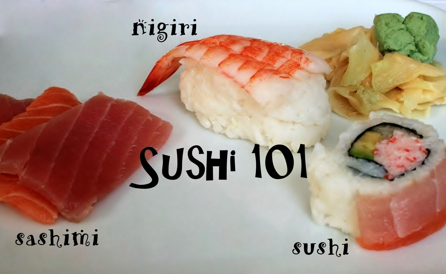 The Different Kinds Of Sushi Types Names And Photos Kinds Of Sushi Sashimi Sushi Sushi