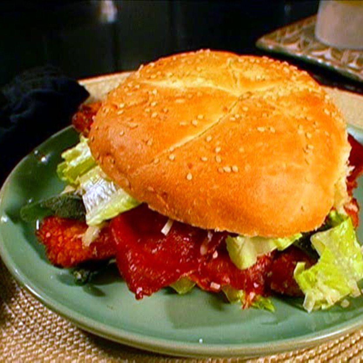 Chicken cutlet sandwich recipe food network recipes