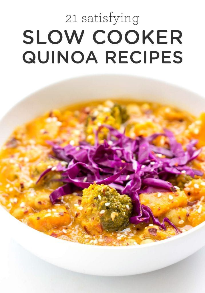 Photo of 21 Satisfying Slow Cooker Quinoa Recipes – Simply Quinoa