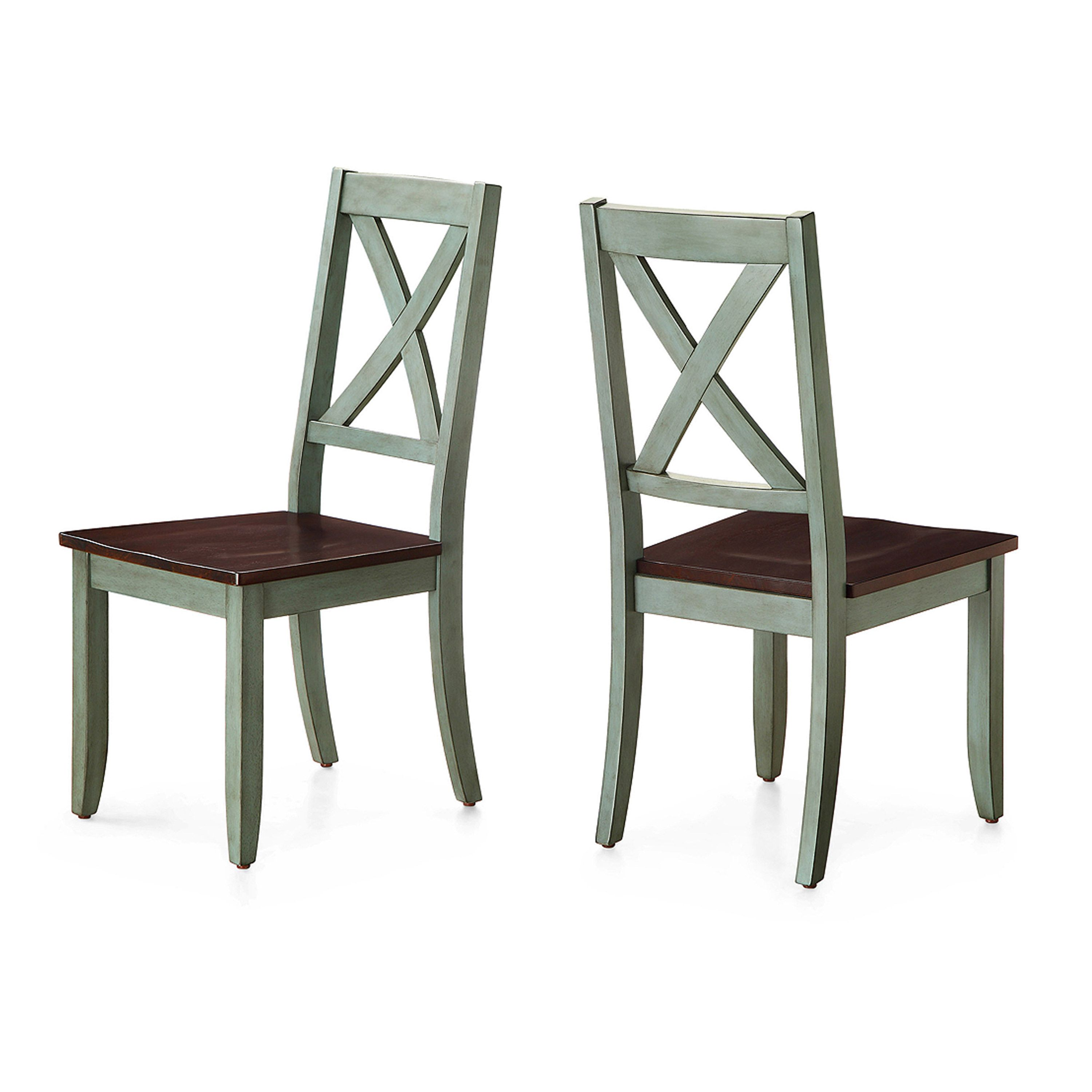 6cbea132b17d8c45587212677fa25f7c - Better Homes And Gardens Bankston Dining Chair White 2 Pack