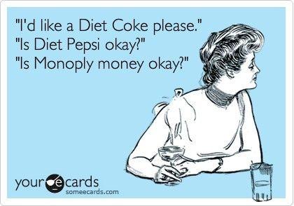 Oh yeah! Coke, score. Pepsi, fail!