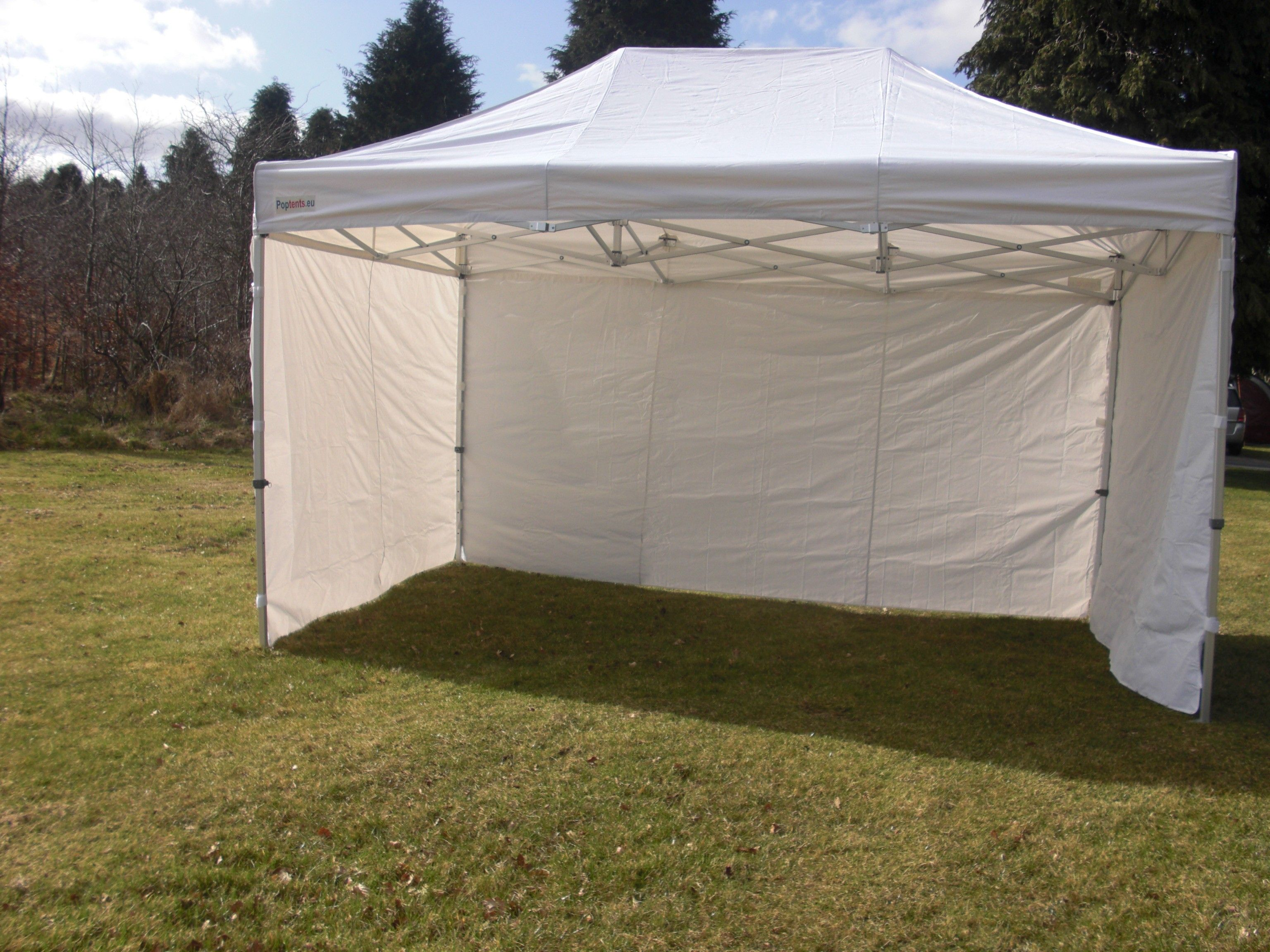 3m x 4.5m (10ft x 15ft) Extreme commerial grade White pop up tent & 3m x 4.5m (10ft x 15ft) Extreme commerial grade White pop up tent ...