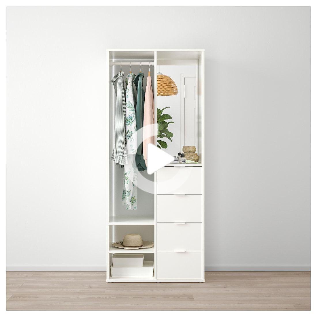 SUNDLANDET Open wardrobe - white - IKEA #fitness #fitnesstricks