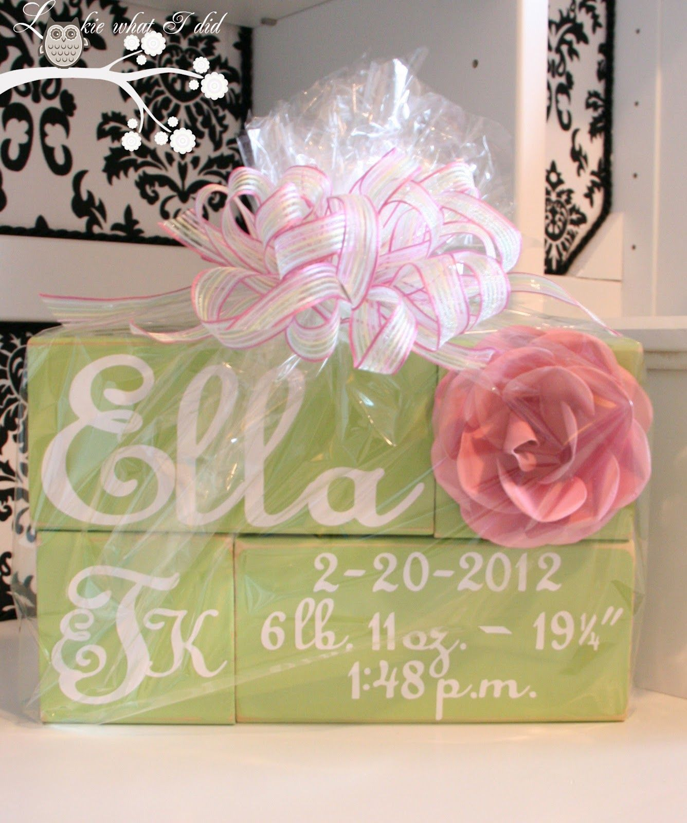 Diy personalized baby blocks sweet baby gift idea gifts diy personalized baby blocks sweet baby gift idea negle Gallery