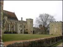 """King Henry first visited Penshurst Place as a guest of the Duke of Buckingham, but soon he became the owner of the property.Built in 1341 Penshurst Place's Baron's Hall has been described as """"one of the grandest rooms in the world"""", because it's probably the oldest, biggest and best preserved medieval hall in England."""