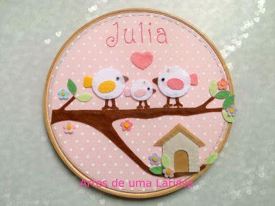 Artes de uma Larissa: Julia Quadrinho Família Pássaros diferente, com os passarinhos que a tia Ethel desenhou!