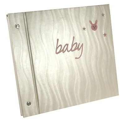 Baby pink word pearl #photo #album with bunny #embroidery. brand new,  View more on the LINK: 	http://www.zeppy.io/product/gb/2/162106453867/